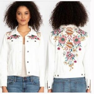 Johnny Was | Nena Embroidered Denim Jacket